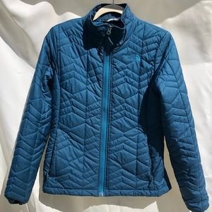 The North Face Puffer, Teal, Women's Medium